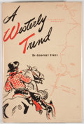 Books:First Editions, Godfrey Sykes. A Westerly Trend. Tucson: Arizona PioneersHistorical Society, 1944. First edition. Octavo. Publisher...