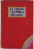 Books:First Editions, Eivind T. Scoyen and Frank J. Taylor. The Rainbow Canyons.Stanford University: Stanford University Press, 1931....