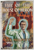 Books:Fine Press & Book Arts, Eden Phillpotts. Fall of the House of Heron. London:Hutchison, [n. d., ca. 1947]. Octavo. Publisher's binding and d...