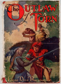 Books:Fiction, Edgar Rice Burroughs. The Outlaw of Torn. New York: Grosset& Dunlap, [1927]. Later edition. Octavo. Publisher's red...