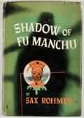 Books:Mystery & Detective Fiction, Sax Rohmer. Shadow of Fu Manchu. Garden City: Doubleday,[1948]. Book club edition. Octavo. Publisher's binding and ...