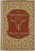 Books:First Editions, Dabney Otis Collins [editor]. 1948 Brand Book. Denver: TheWesterners, 1948. First edition. Octavo. Publisher's ...