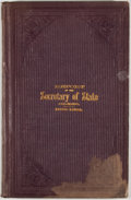 Books:First Editions, Melvin Edwards. Biennial Report of the Secretary of State ofColorado for the Fiscal Years Ending November 30, 1883, and...