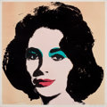 Prints:Contemporary, ANDY WARHOL (American, 1928-1987). Liz, 1965. Offsetlithograph on paper. 23 x 23 inches (58.4 x 58.4 cm). From theedit...