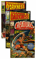 Silver Age (1956-1969):Horror, Chamber of Darkness Group (Marvel, 1969-70) Condition: AverageVF.... (Total: 7 Comic Books)
