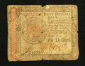 Colonial Notes:Continental Congress Issues, Continental Currency January 14, 1779 $60 Very Good.. ...