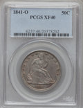 Seated Half Dollars: , 1841-O 50C XF40 PCGS. PCGS Population (15/77). NGC Census: (0/73).Mintage: 401,000. Numismedia Wsl. Price for problem free...