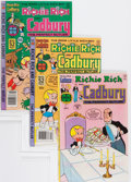 Bronze Age (1970-1979):Cartoon Character, Richie Rich and Cadbury File Copy Group (Harvey, 1974-78)Condition: Average NM-.... (Total: 49 Comic Books)