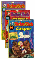 Bronze Age (1970-1979):Cartoon Character, Richie Rich and Casper #1 and 3-45 File Copy Group (Harvey, 1974-82) Condition: Average NM-.... (Total: 85 Comic Books)