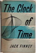 Books:Science Fiction & Fantasy, Jack Finney. The Clock of Time. London: Eyre &Spottiswoode, 1958. First British edition. Inscribed and signed...