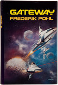 Books:Signed Editions, Frederik Pohl. Gateway. New York: St. Martin's Press, 1977.First edition. Inscribed by the author to Jerry Weis...