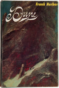 Books:First Editions, Frank Herbert. Dune. Philadelphia / New York: Chilton Books,[1965]. First edition. Octavo. xxvi, 412 pages includin...