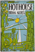 Books:Signed Editions, Brian Aldiss. Hothouse. London: Faber and Faber, 1962. First edition. Inscribed by the author. Red cloth over bo...