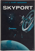 Books:Signed Editions, Curt Siodmak. Skyport. New York: Crown, [1959]. First edition, first printing. Signed by Siodmak. Octavo. Pu...