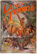 Books:First Editions, Edgar Rice Burroughs. Land of Terror. Tarzana: Edgar RiceBurroughs, [1944]. First edition. Octavo. 319 pages. P...