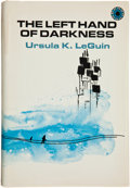 Books:First Editions, Ursula K. Le Guin. The Left Hand of Darkness. New York:Walker, [1969]. First hardcover edition, first printing. Oct...