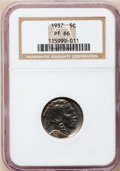 Proof Buffalo Nickels: , 1937 5C PR66 NGC. NGC Census: (474/347). PCGS Population (735/392).Mintage: 5,769. Numismedia Wsl. Price for problem free ...