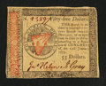 Colonial Notes:Continental Congress Issues, Continental Currency January 14, 1779 $55 Very Fine-ExtremelyFine.. ...