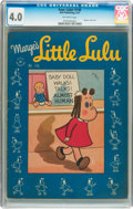 Golden Age (1938-1955):Cartoon Character, Four Color #146 Marge's Little Lulu (Dell, 1947) CGC VG 4.0Off-white pages....