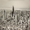 Post-War & Contemporary:Contemporary, FROM THE ESTATE OF DR. EDMUND P. PILLSBURY. BOB KNOX (American, b.1953). City from the Sky, 2002. Acrylic on canvas. ...