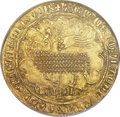 Belgium, Belgium: Brabant. Jeanne & Wenceslas gold Mouton d'Or ND(1355-83),...