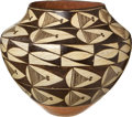 American Indian Art:Pottery, AN ACOMA POLYCHROME STORAGE JAR. c. 1915...