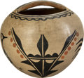American Indian Art:Pottery, A SANTO DOMINGO POLYCHROME JAR . c. 1930...