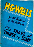 Books:Science Fiction & Fantasy, H. G. Wells: The Shape of Things to Come. London: Hutchinson& Company, 1933. First edition. With a half title page ...