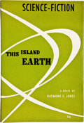 Books:Signed Editions, Raymond F. Jones. This Island Earth. Chicago: ShastaPublishers, [1952]. Signed by the Author. Octavo. 220 pages...