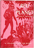 Books:First Editions, Robert A. Heinlein. Red Planet. New York: Charles Scribner'sSons, 1949. First edition. Octavo. 211 pages. Black clo...