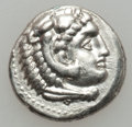 Ancients:Greek, Ancients: Alexander III the Great (336-323 BC). Lot of two ARdrachms. ... (Total: 2 coins)