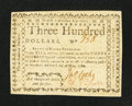 Colonial Notes:North Carolina, North Carolina May 10, 1780 $300 Aut Numquam Tentes AutPerfice Very Fine.. ...