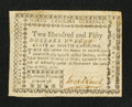 Colonial Notes:North Carolina, North Carolina May 10, 1780 $250 Quaerenda Pecunia PrimumEst. Very Fine-Extremely Fine.. ...