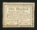 Colonial Notes:North Carolina, North Carolina May 10, 1780 $100 Fortis Cadere Cedere NonPotest Very Fine.. ...