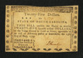 Colonial Notes:North Carolina, North Carolina May 15, 1779 $25 American Fortitude DisplayedExtremely Fine-About New.. ...