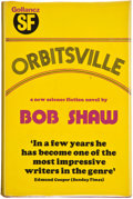 Books:Signed Editions, Bob Shaw. Orbitsville. London: Gollancz, 1975. First edition, first printing. Inscribed by Shaw. 223 pages. Octa...