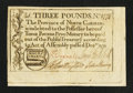 Colonial Notes:North Carolina, North Carolina December, 1771 £3 Very Fine.. ...