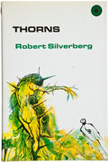Books:Signed Editions, Robert Silverberg. Thorns. New York: Walker, [1969]. First edition, first printing. Inscribed by Silverberg to...