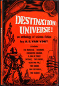 Books:Signed Editions, A. E. van Vogt. Destination Universe! New York: Pellegrini & Cudahy, [1952]. First edition, first printing. In...