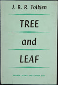 Books:First Editions, J. R. R. Tolkien. Tree and Leaf. London: George Allen &Unwin, [1964]. First edition, first printing. Octavo. 92 pag...