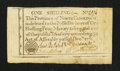 Colonial Notes:North Carolina, North Carolina December, 1771 1s Extremely Fine.. ...