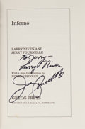 Books:Signed Editions, Larry Niven and Jerry Pournelle. Inferno. Boston: Gregg Press, 1979. First printing of Gregg edition. Inscribe...