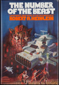 Books:First Editions, Robert A. Heinlein. The Number of the Beast. New York:Fawcett Columbine, [1980]. First edition, first printing. Oct...
