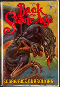 Books:First Editions, Edgar Rice Burroughs. Back to the Stone Age. Tarzana: EdgarRice Burroughs, [1937]. First edition. Octavo. 318 pages...