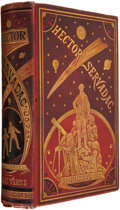 Books:First Editions, Jules Verne. Hector Servadac. New York: Scribner, Armstrong,& Co., 1878. First authorized American edition. Ill...