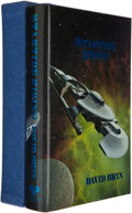 Books:Signed Editions, David Brin. Startide Rising. West Bloomfield: Phantasia Press, 1985. First hardcover edition, boxed and limited to 3...