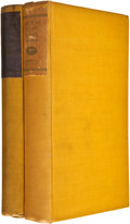 Books:First Editions, Arthur Machen. Two Novels, including: Far Off Things. [and:]Things Near and Far. New York: Alfred A. Kn... (Total: 2Items)