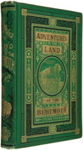 Books:First Editions, Jules Verne. Adventures in the Land of the Behemoth. Boston:Henry L. Shepard, 1874. First edition with this title. ...