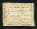 Colonial Notes:North Carolina, North Carolina April 23, 1761 30s Fine-Very Fine.. ...