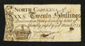 Colonial Notes:North Carolina, North Carolina March 9, 1754 20s Very Fine.. ...